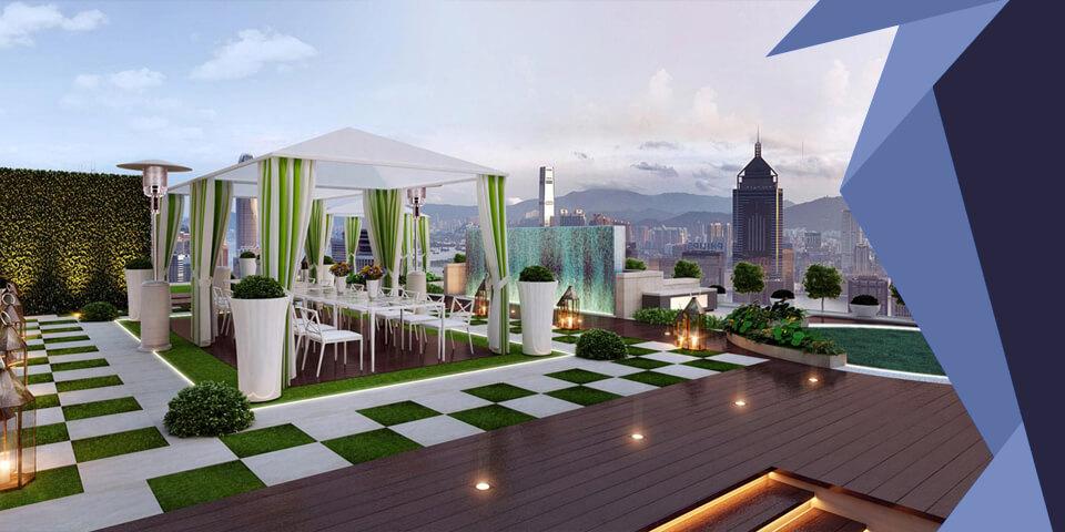 Area Designer e Architetti - Gaia Arredo in Ferro - Rooftop