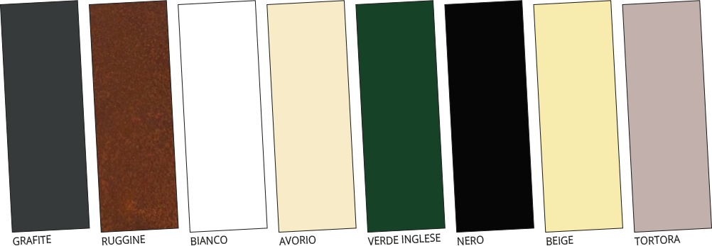 I colori del metallo, vernici Gaia