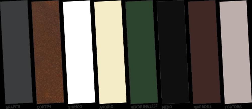 Colori Metallo - Strutture