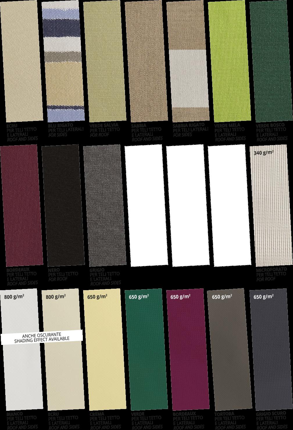 Colori Stoffe - Strutture