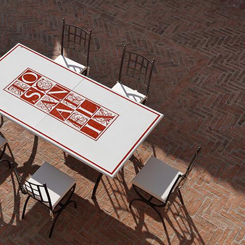 Arredo Giardino in ferro - Tavoli, Sedie e Complementi Gaia