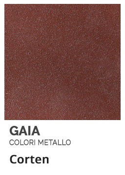 Corten - Colori Metallo - Gaia Ferro Forgiato