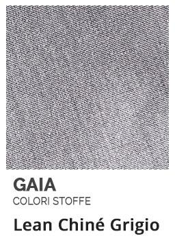 Lean Chiné Grigio - Colori Stoffe- Gaia Ferro Forgiato