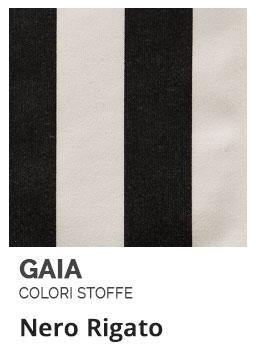 Nero Rigato - Colori Stoffe- Gaia Ferro Forgiato