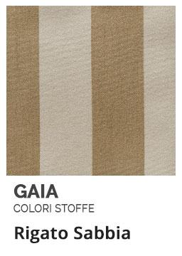 Rigato Sabbia - Colori Stoffe- Gaia Ferro Forgiato