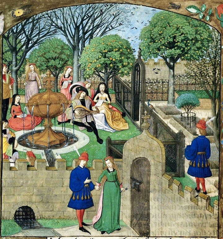 hortus conclusus - il giardino medievale