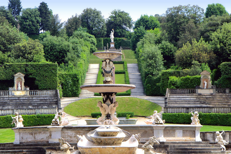 Il giardino rinascimentale, formale o all'italiana