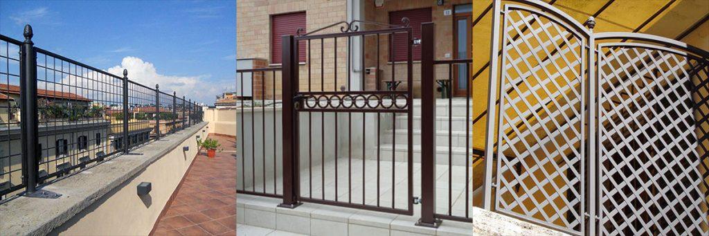 Cancelli, recinzioni e ringhiere